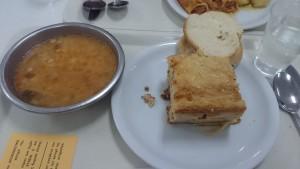 Ukázka nejčastějšího pokrmu týdne. Musím uznat, že je to moje nejoblíbenější jídlo :-)