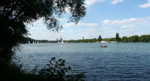 Jezero uprostřed města, to je Maschsee!