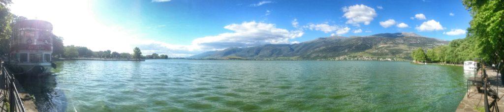 Ioannina, jezero Pamvotis